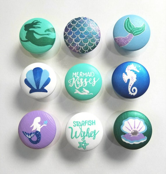 Mermaid Drawer Knobs