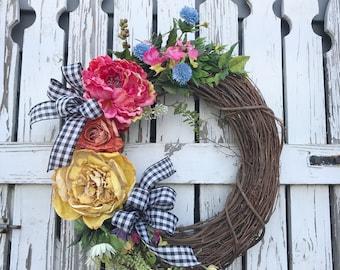 Spring Vine Wreath