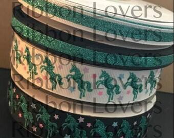 Turquoise glitter unicorn Collection USDR