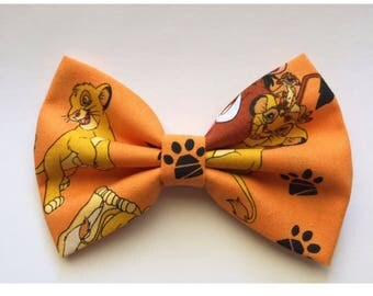 New! Disney the Lion King hairbow simba nala