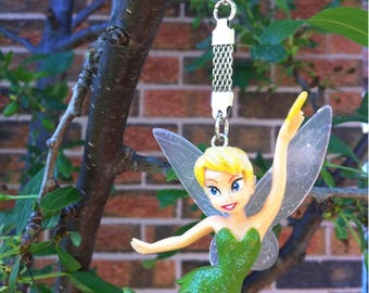 Tinkerbell Fairy Keychain / Plastic Fairy Doll Key Ring