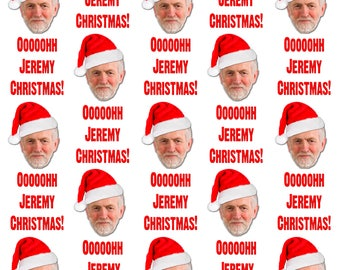 Oh Jeremy Corbyn (Christmas) Wrapping Paper