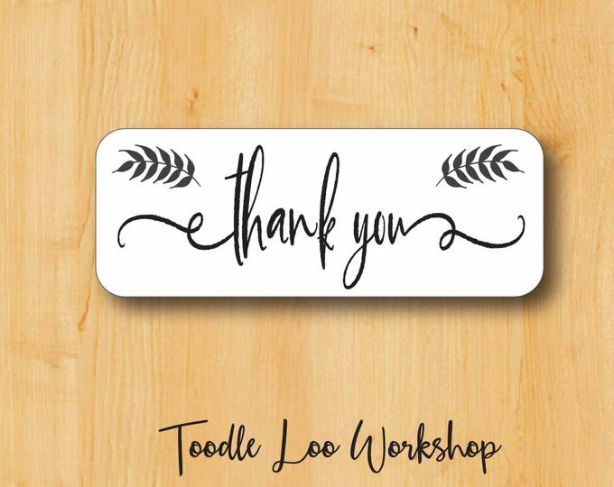 Calligraphy Labels| Thank You Label | Thank You Sticker |  Thanks Stickers | Thanks Label | Calligraphy Label