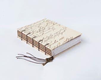 Vintage Hard Writing Journal, Guestbook, Notebook, Sketchbook
