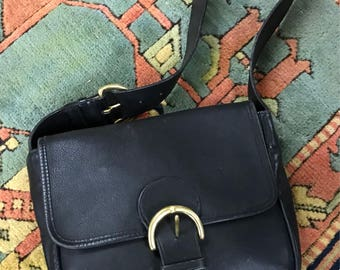 Authentic Coach Leather Shoulder Bag