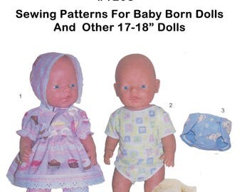 Baby Born 16-17 inch and other dolls of similar size #1208