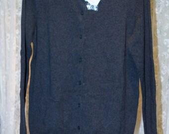 New Old Stock Gray Sweater, Croft & Borrow Size Medium