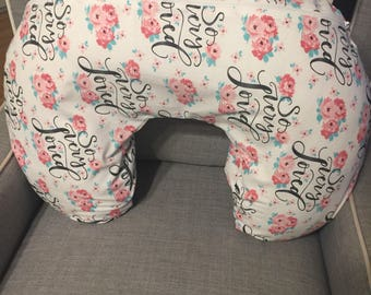 Boppy Cover - Nursing Pillow Cover - Boppy Slipcover- Nursing Pillow Slipcover