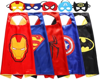 Super hero cape and felt mask