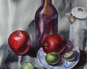 Still-life with bottle