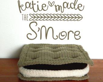 The S'more Pillow