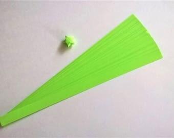 Emerald Green : Lucky Star Paper Strips (100)