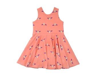 Bee's Knees Tank Mini Twirl Dress