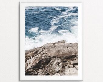 Ocean Print, Ocean Photography, Sea Photography, Nature Photography, Home Decor, Sea Print, Nature Wall Art, Large Nature Wall Art