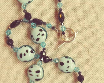 Handmade Polka Dot Necklace