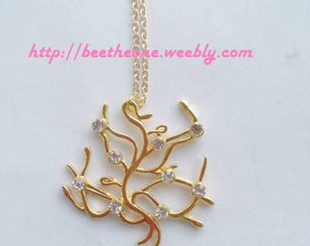 Belle Tree of life necklace from the Disney movie Beauty and the Beast