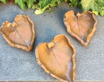 Medium Ceramic Leaf Dish