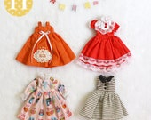 Special Set. // Doll clothes for Neo Blythe, Licca.