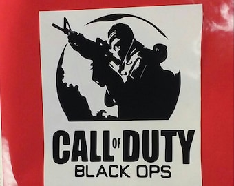 Call of Duty Black Ops Decal/Call of Duty/ Call of Duty Black Ops