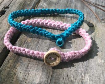 Teal anklet, Boho anklet, Teal Foot jewelry, Rustic, Teal Crochet Anklet,  Crochet Jewelery/Jewellery Hippie Anklet,