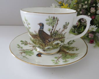 Harleigh vintage 1950's breakfast cup and saucer, Gift for him, Fathers day