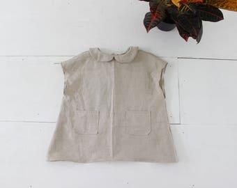little lady linen tunic