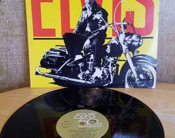 Vintage Vinyl Record  Rocker Elvis Presley RCA LP