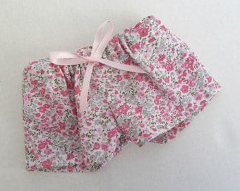 "18"" Floral Faux Drawstring Shorts - 18 Inch Doll Clothes - Fits Like American Girl ® Doll Clothes"