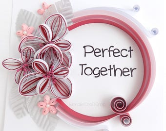 Perfect Together, Together Sign, Perfect Pair, Soulmate Gift, Anniversary Gift for Couple, Unique Wedding Gift, Valentines Day Gift for Her