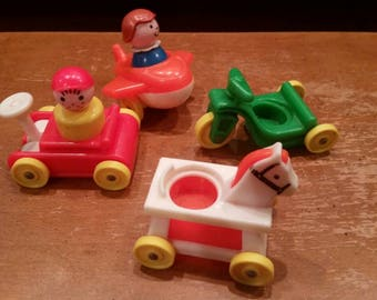 Fisher price little people little riders set