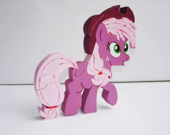 Puzzle wood pretty pony Elly