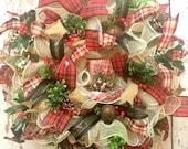 Christmas Deco Mesh Wreat...