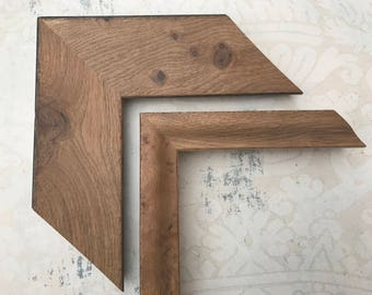 Natural Wood Picture Frame- Beach House Picture Frame- Restoration Hardware Frame 5x7, 8x8, 8x10, 8.5x11, 10x10, 11x14, 16x20, 18x24