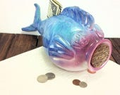 fish piggy bank for boy, ...