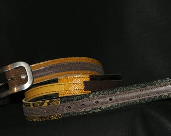 belt leather and made in Britain since 1996