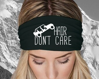Jeep Hair Don't Care Headband, Jeep, Gift, Jeep Lover Gift, Car Lover Gift