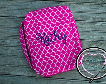 Personalized Bible Cover - Bible Carrier - Monogrammed Bible Cover - Baptism Gift - Church Gift