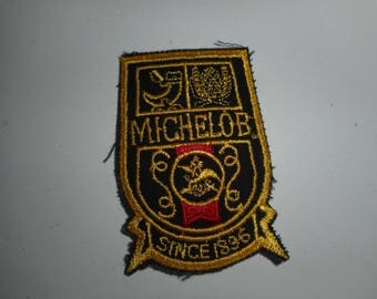 "Vintage Michelob Beer Patch 3.5""x1.25"""