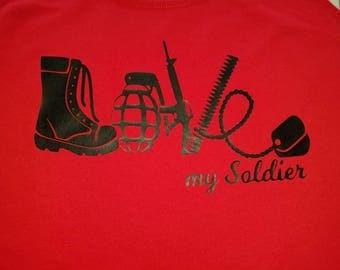 Love My Solider t-shirt
