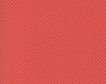 Victoria - Picnic Check Rouge by 3 Sisters for Moda, 1/2 yard, 44168 24