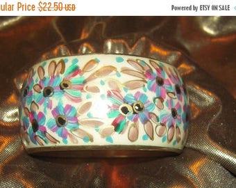 ALL ON SALE Chic Bangle Thick Bracelet ,  Colorful bright bracelet