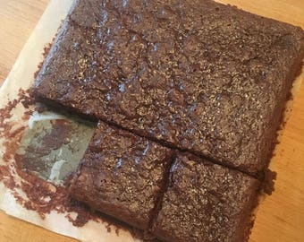 Vegan Chocolate Brownies - Egg & Dairy Fee - Full Pan