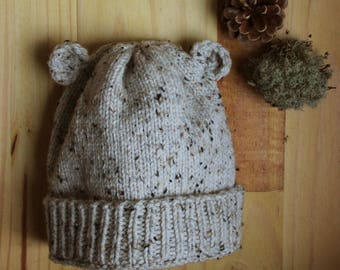 Bear Hat - beige