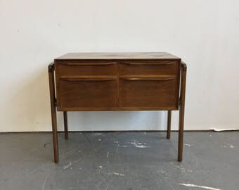 Vintage Danish Modern Low Chest - Free NYC Delivery!