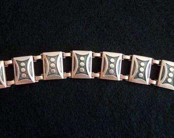 Unusual Copper Bracelet