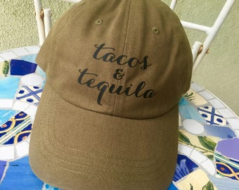 Tacos & Tequila Dad Hat