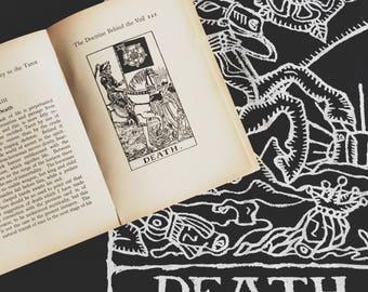 Tarot Card Tank Top - Vintage Tarot Print - Occult Tank - Occult Print Graphic Tank - Graphic Tee - Graphic Tank Top - Occult Shirt