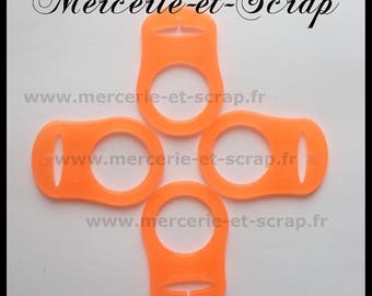 1 orange 08 silicone pacifier adapter