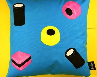 Sweetie Liquorice Allsorts Cushion