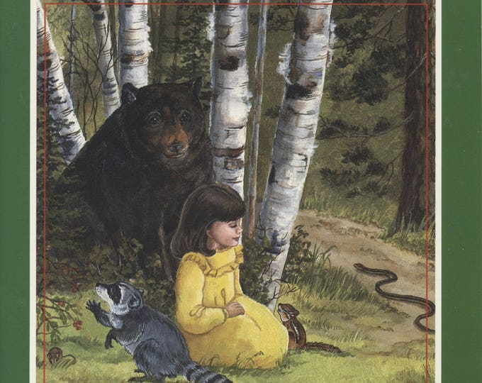 MY FOREST BOOK Series # 1, 2, 3  for a girl; vintage interactive book, wtite your child's name in book, then your child is in the story